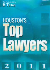 Houston Top Lawyer 2011