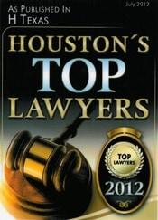Houston Top Lawyer 2012