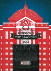 Houston Top Lawyer 2013
