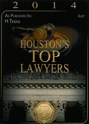Houston Top Attorney 2014